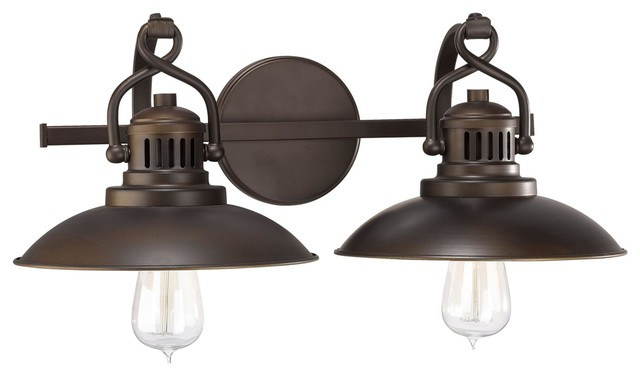 Bathroom Vanity Lights Industrial : Capital Lighting O neal Restoration-Vintage Bath Vanity Light - Industrial - Bathroom Vanity ...