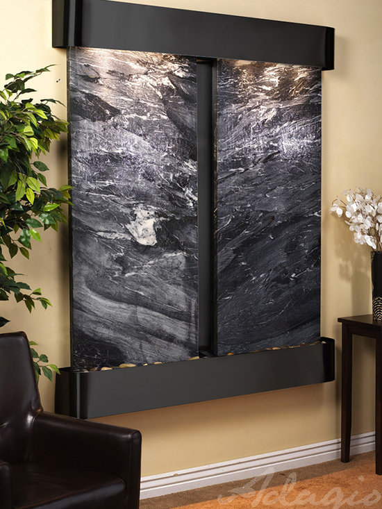 The Cottonwood Falls - Wall Mounted Water Features -