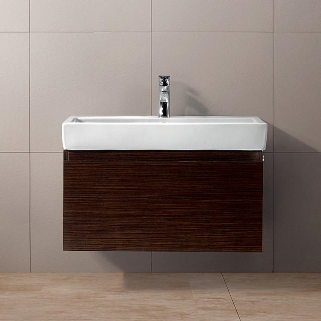 Vigo 30-inch Agalia Single Bathroom Vanity - Contemporary - Bathroom ...