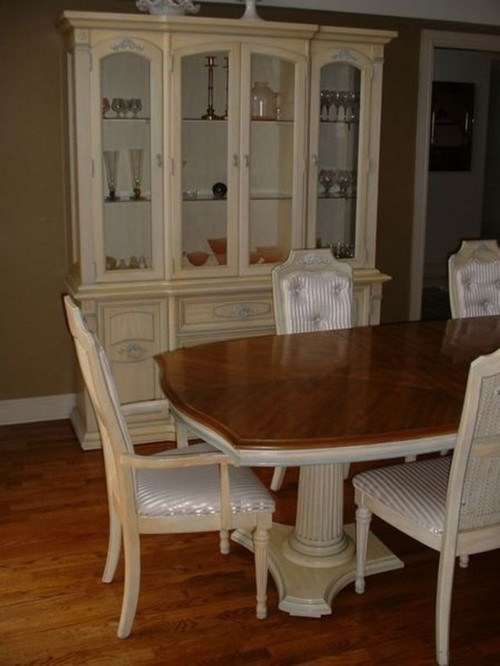 used stanley dining room set value