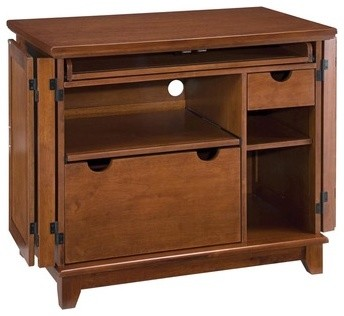 Arts and Crafts Compact Office Cabinet - Modern - Storage ...