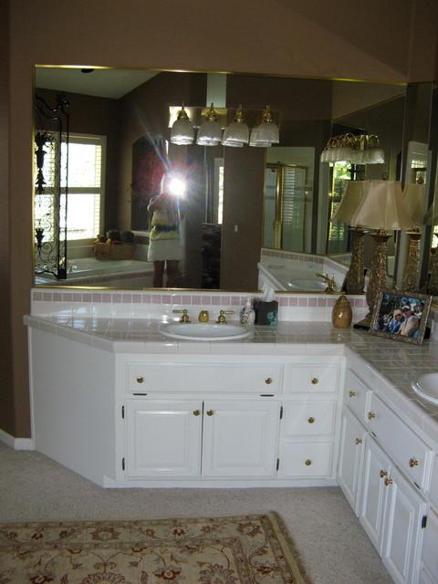 Luxe Retreat Master Bathroom traditional