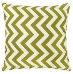 Greendale Home Fashions Toss Pillows, Zig Zag, Village Green modern pillows