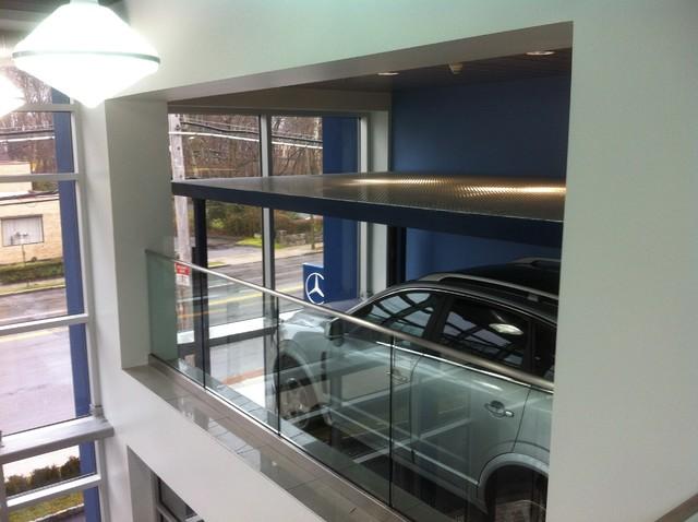 Car lift elevator PhantomPark by American Custom Lifts ...
