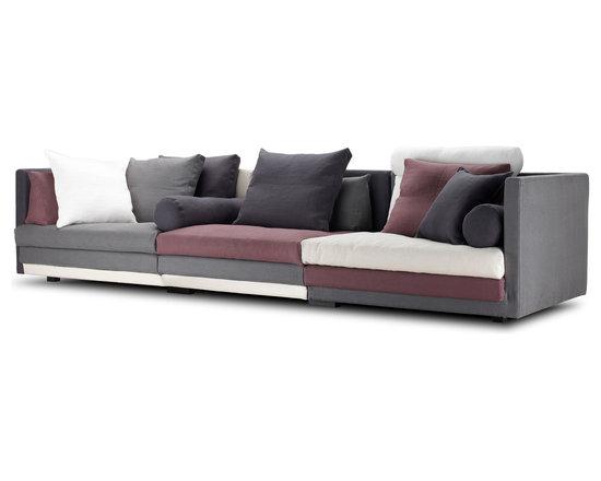 Eilersen - Eilersen Cocoon Sofa at Elevenfiftyfour.ca - Modular sofa by Eilersen, limitless possibilities.