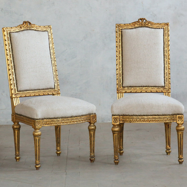 Eloquence One Of A Kind Vintage Side Chair Louis XVI