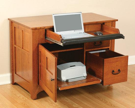 Laptop Credenza 2070 - open -