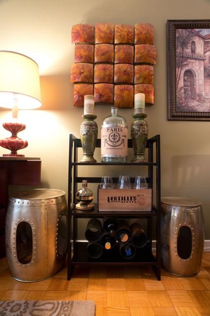 Luxury Rittenhouse Square Apartment eclectic-living-room