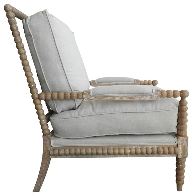 Classic Down Spool Chair Beach Style Armchairs And