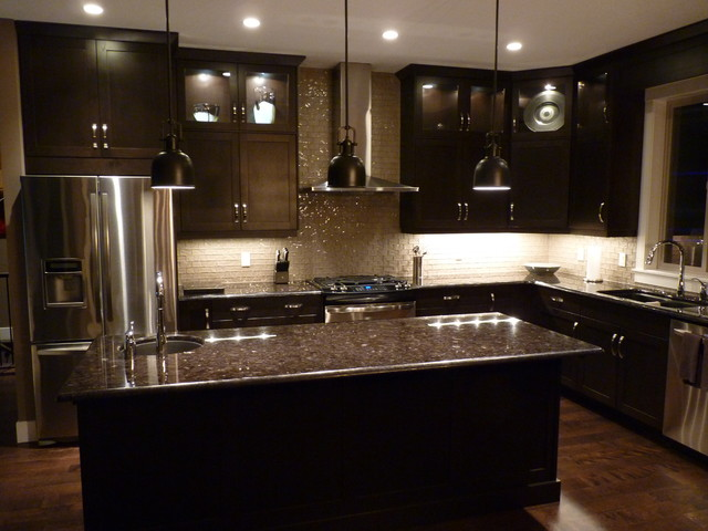 Custom Kitchen - contemporary - kitchen cabinets - other metro