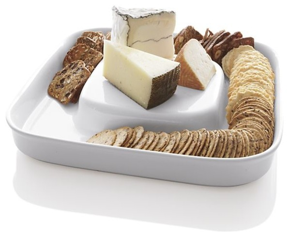 Cheese & Cracker Server modern-platters