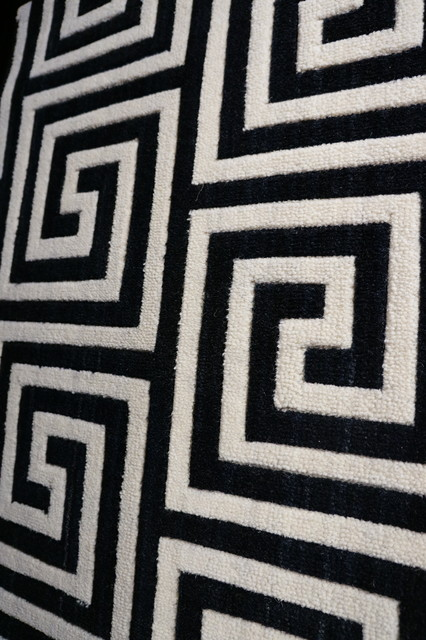Geometric Pattern Carpet And Rugs Transitional Area