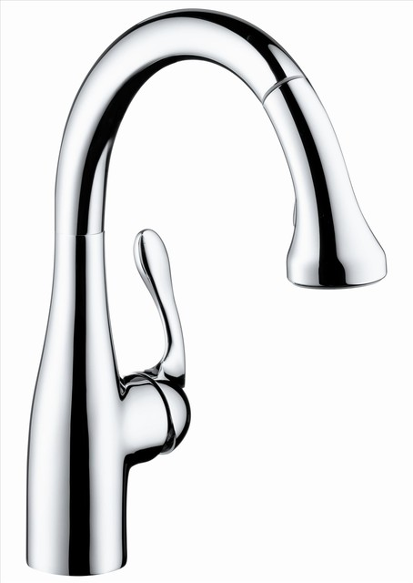 Hansgrohe 4297000 Allegro E Prep Faucet contemporary-kitchen-faucets