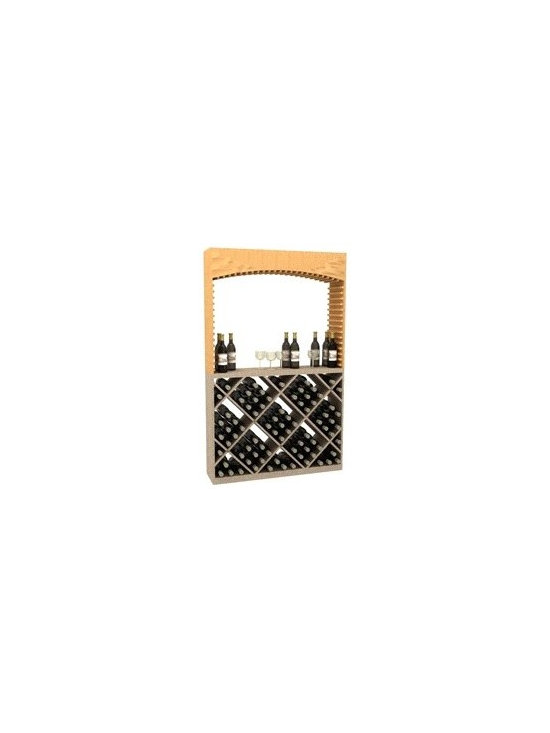 Wooden Wine Rack Archway - The Wooden Wine Rack Archway is part of our 6' Series.