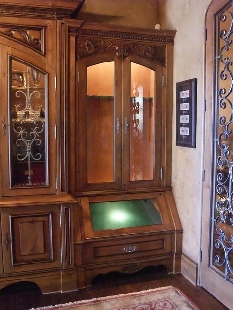 Gun Cabinets - Traditional - phoenix - by Agape Wood Design