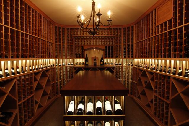 S laurelhurst seattle traditional wine cellar for Garage wine cellar