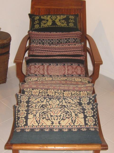 Ikat Pillow asian-decorative-pillows