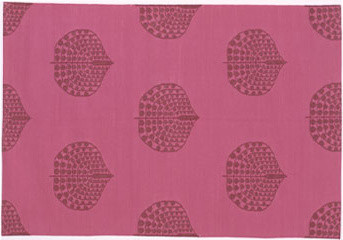 Hot Pink Song modern rugs