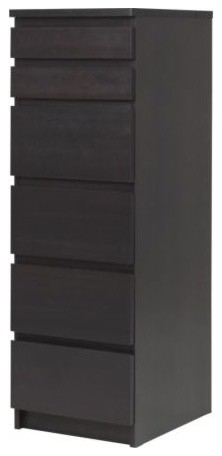 Malm 6 drawer chest scandinavian dressers by ikea for Armoire malm