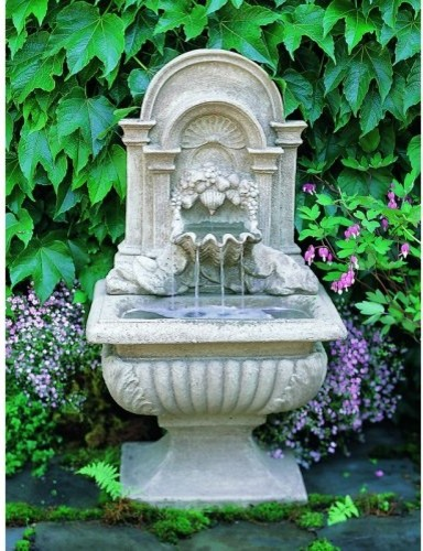 About the Sorrento Grotto FountainCapture the essence of lush and exotic gardens traditional-outdoor-fountains-and-ponds