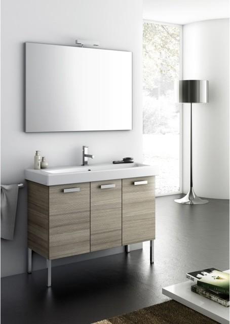 Three Door Complete Vanity Set Contemporary Bathroom Vanities And Sink Consoles