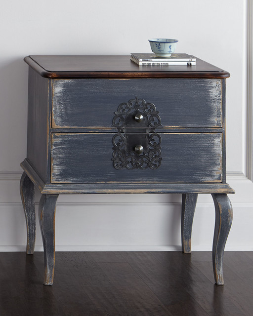 Grey Bedside Tables: Gentry Nightstand