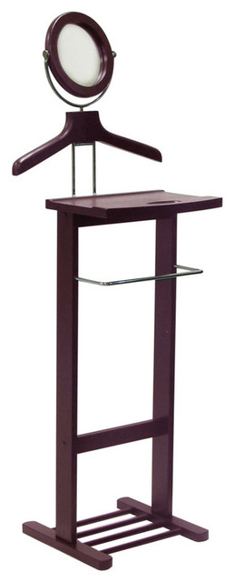 Valet Stand with Mirror modern-coatracks-and-umbrella-stands