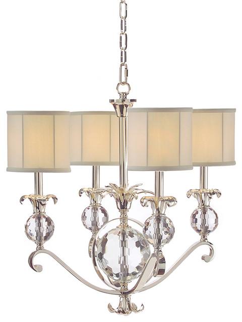 john richard 4 light chandelier ajc 8727 contemporary. Black Bedroom Furniture Sets. Home Design Ideas