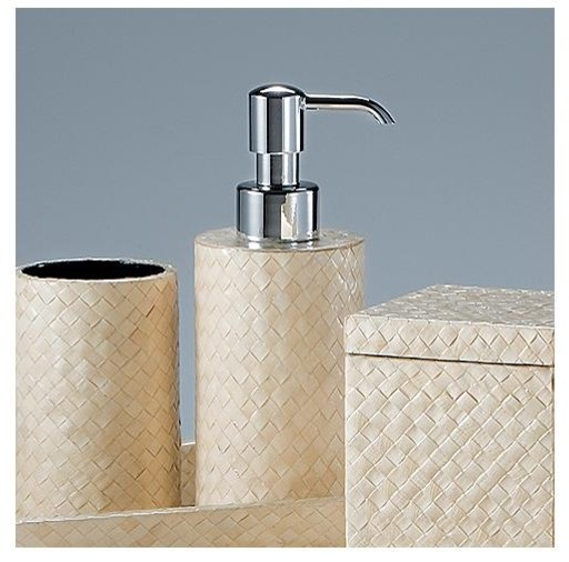 Banig Pump Dispenser contemporary-bathroom-accessories