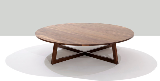 Finn Large Round Coffee Table Contemporary