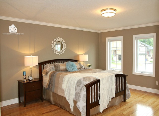 Master bedroom staging traditional bedroom toronto by feels like home 2 me home staging Master bedroom home staging