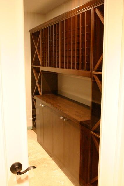Wonderful Wine Storage contemporary