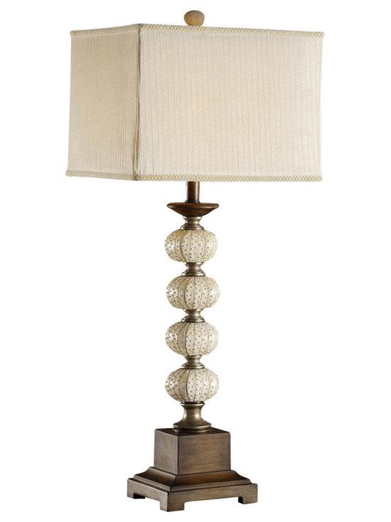 Crestview Collection - Crestview Collection CVATP850 Sea Urchin Table Lamp - Crestview Collection CVATP850 Sea Urchin Table Lamp