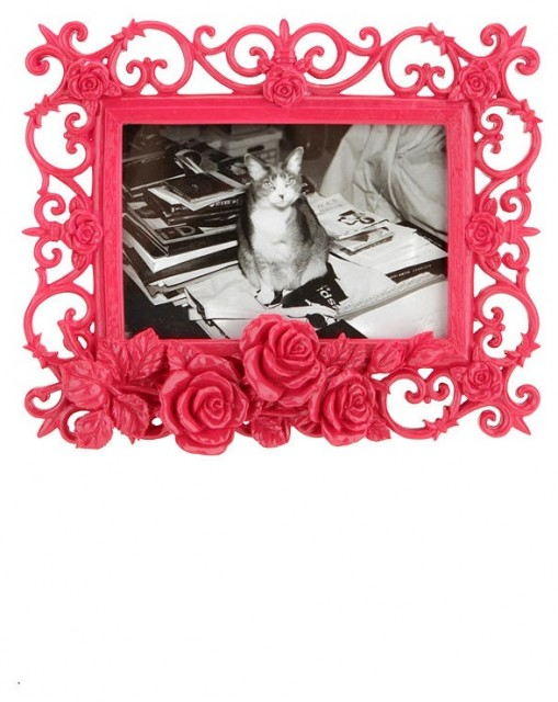 Ornate Rose Frame eclectic-picture-frames