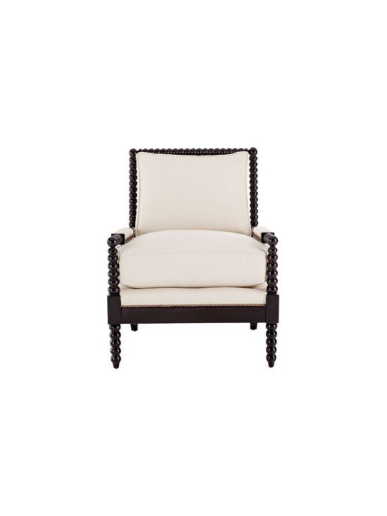 Old Hickory Tannery 'Ellsworth' Spindle-Back Chair - This side chair in black walnut can work in any room.