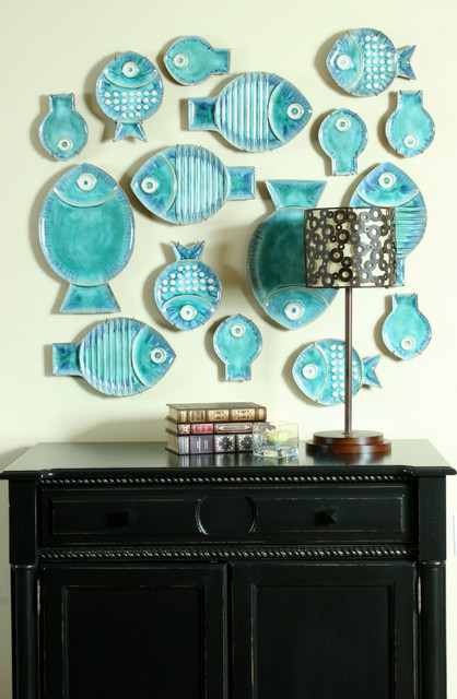 Fabulous Fishes! eclectic hall