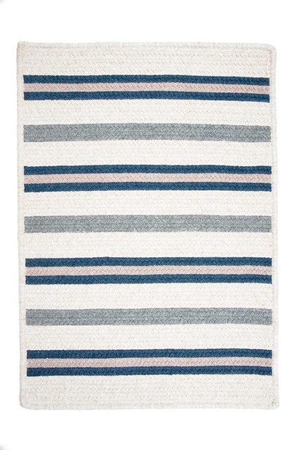 Allure, Polo Blue Rug, Sample Swatch contemporary-rugs