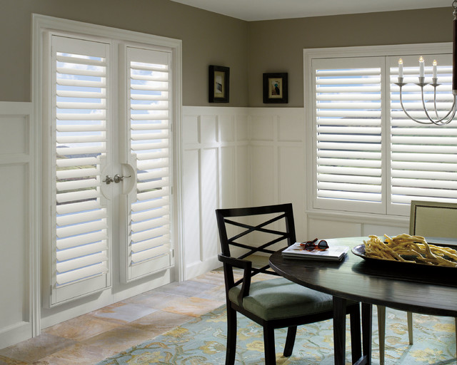 Shutters contemporary-dining-room