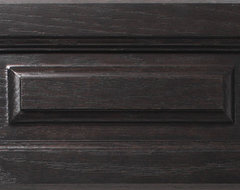 Charcoal on Oak eclectic-kitchen-cabinetry
