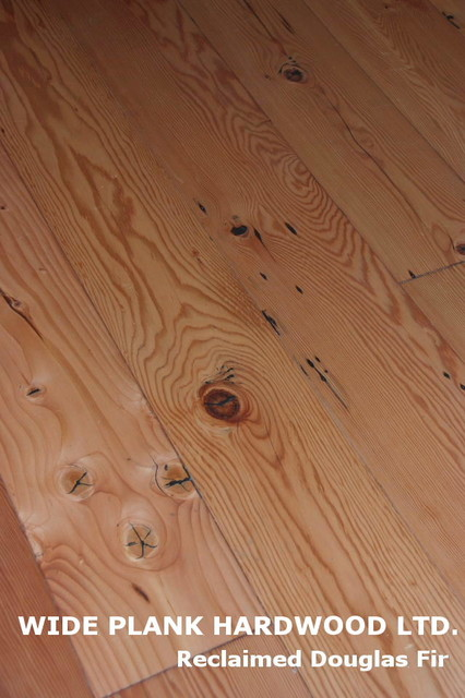 Reclaimed Douglas Fir Modern Wood Flooring Vancouver