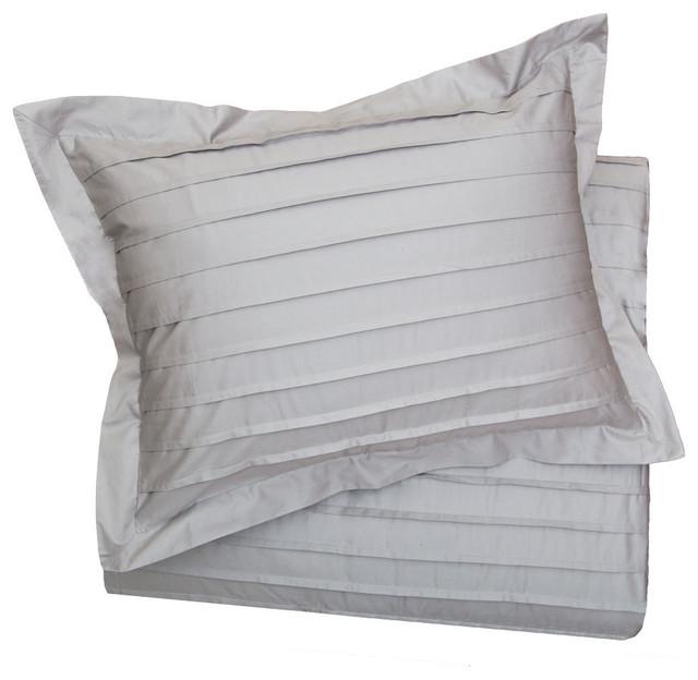 Cortland Gray Sham, King contemporary-duvet-covers-and-duvet-sets