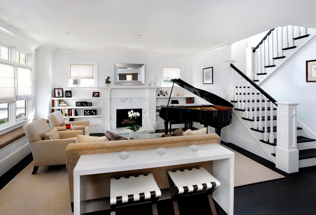 Classic Modern Living Room : All Rooms / Living Photos / Living Room