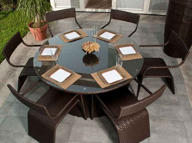Dining Table Rattan Dining Tables