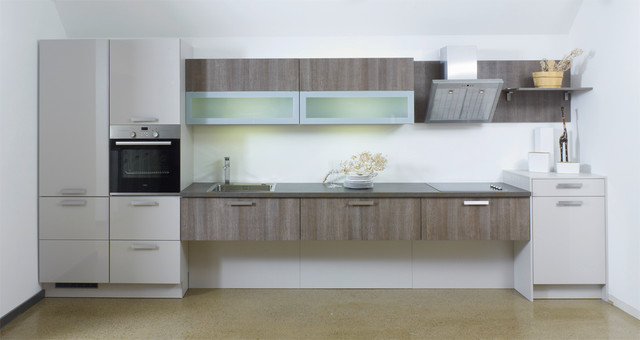 modern wall mounted kitchen