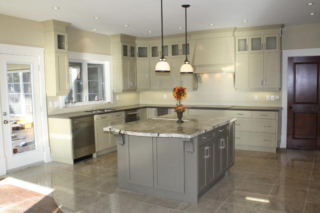 Cottage Kitchen Modern Toronto By Laurentide Kitchens Inc