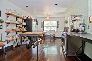 Kitchen Remodeling Ideas Using Shelving U0026 Furniture