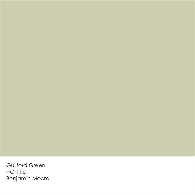 Benjamin Moore Goes Green With Their Color Of The Year For 2015