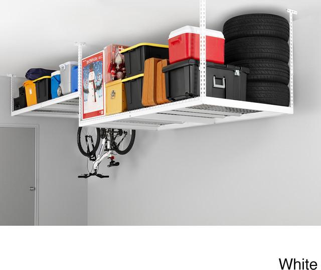 Garage Storage Product : Newage products adjustable width ceiling storage rack