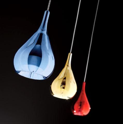 Gocce SP 1047/10 Modern Pendant by Sillux modern-pendant-lighting