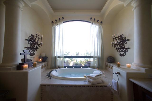 Cabo San Lucas II tropical-bathroom